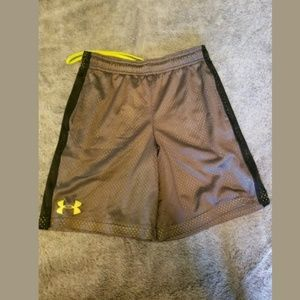 Boy's Under Armour Gray Shorts Size Small